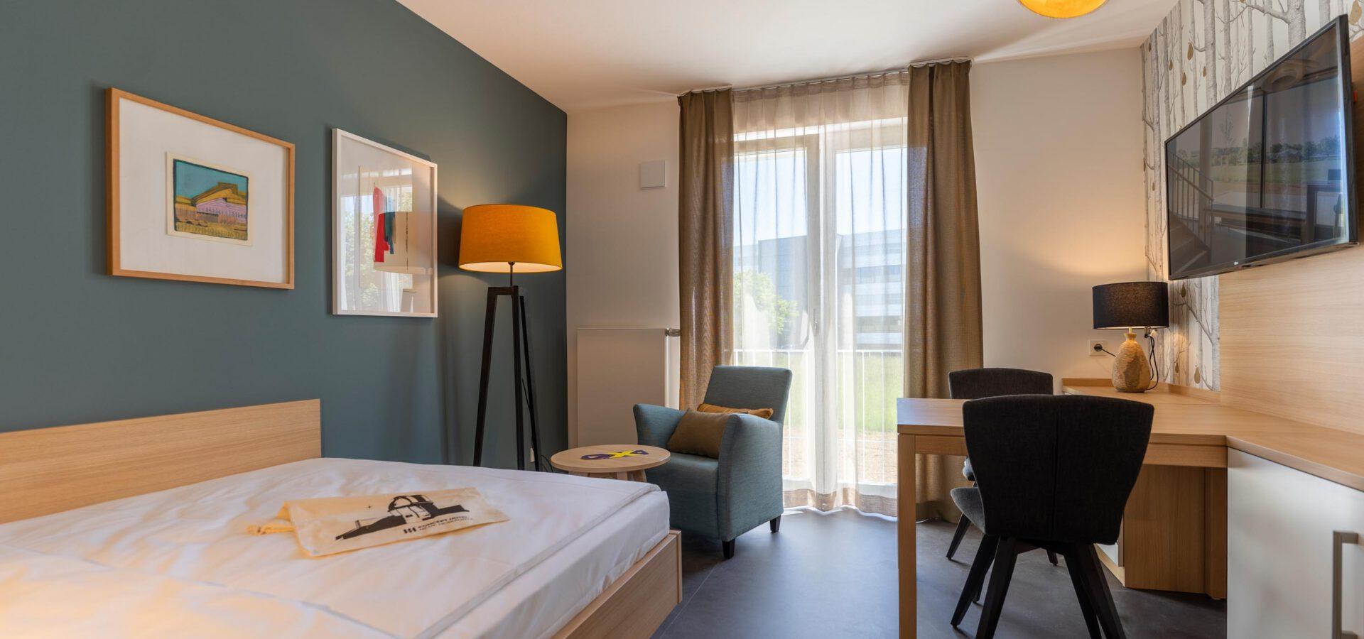MEDIUM Zimmer im Koncept Hotel Neue Horizonte in Tübingen Cyber Valley